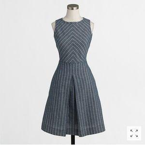 J. Crew Factory Chevron-Striped Dress